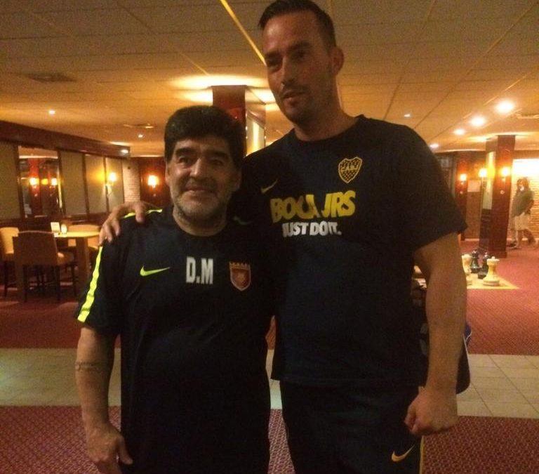 De bijzondere ontmoeting tussen Venlonaar Mark en Diego Maradona