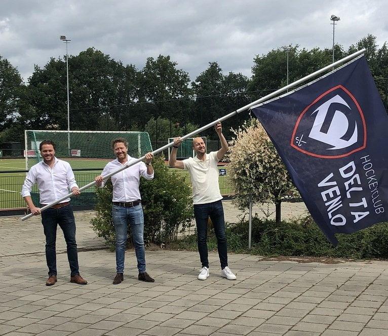 """2020 geboortejaar Hockeyclub Delta Venlo: """"Meteen een thuisgevoel op de nieuwe locatie"""""""