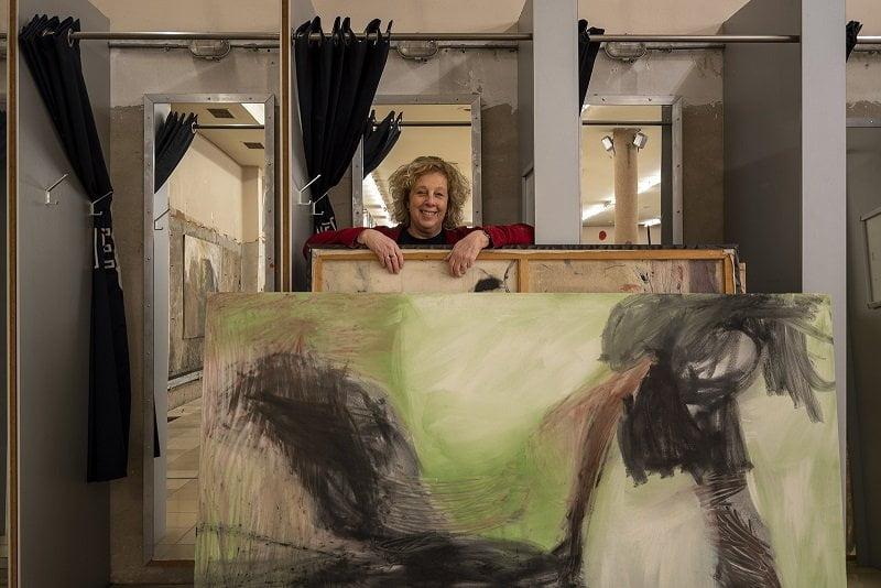 """Artist in Hema-Residence Monique Romeijn: """"Bezie de wereld van hieruit als toeschouwer"""""""