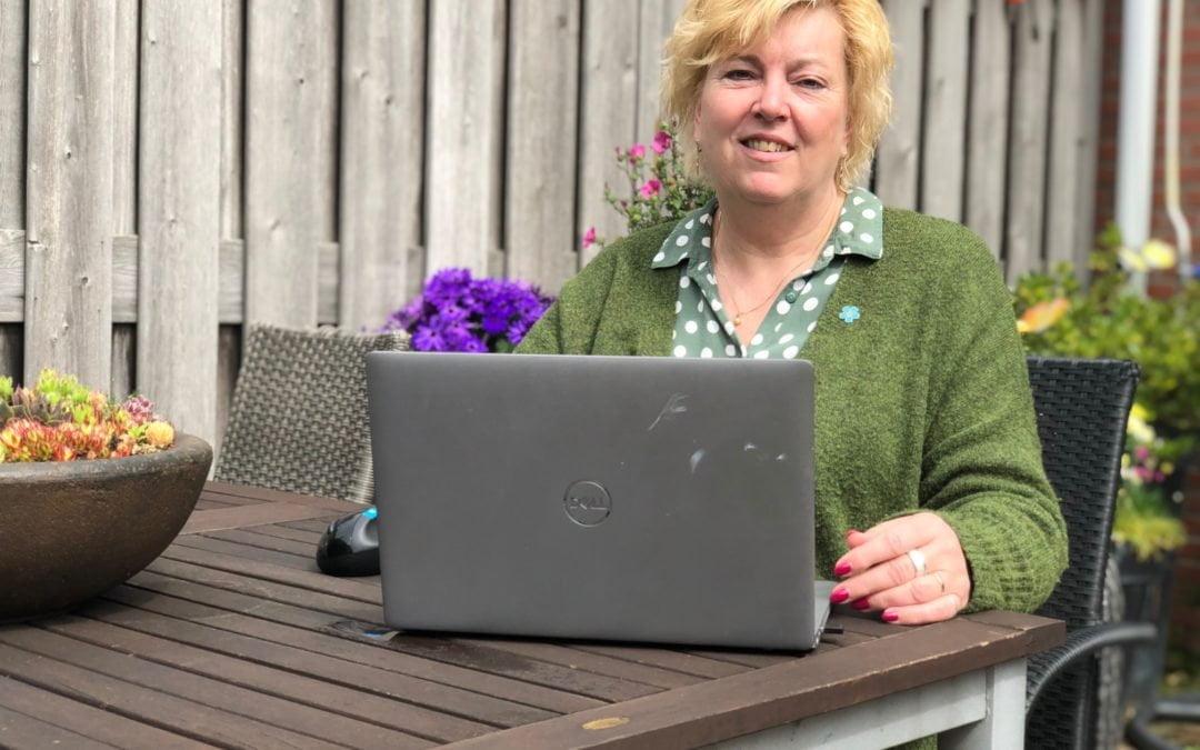 'Collecteren voor Alzheimer Nederland is echt heel leuk en dankbaar werk'