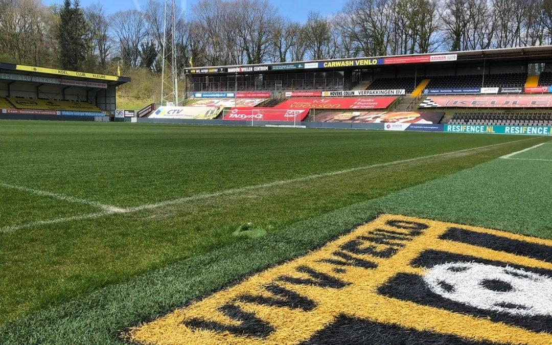 Volle Venlose winkelstraten, maar VVV speelt cruciale wedstrijden in lege Koel