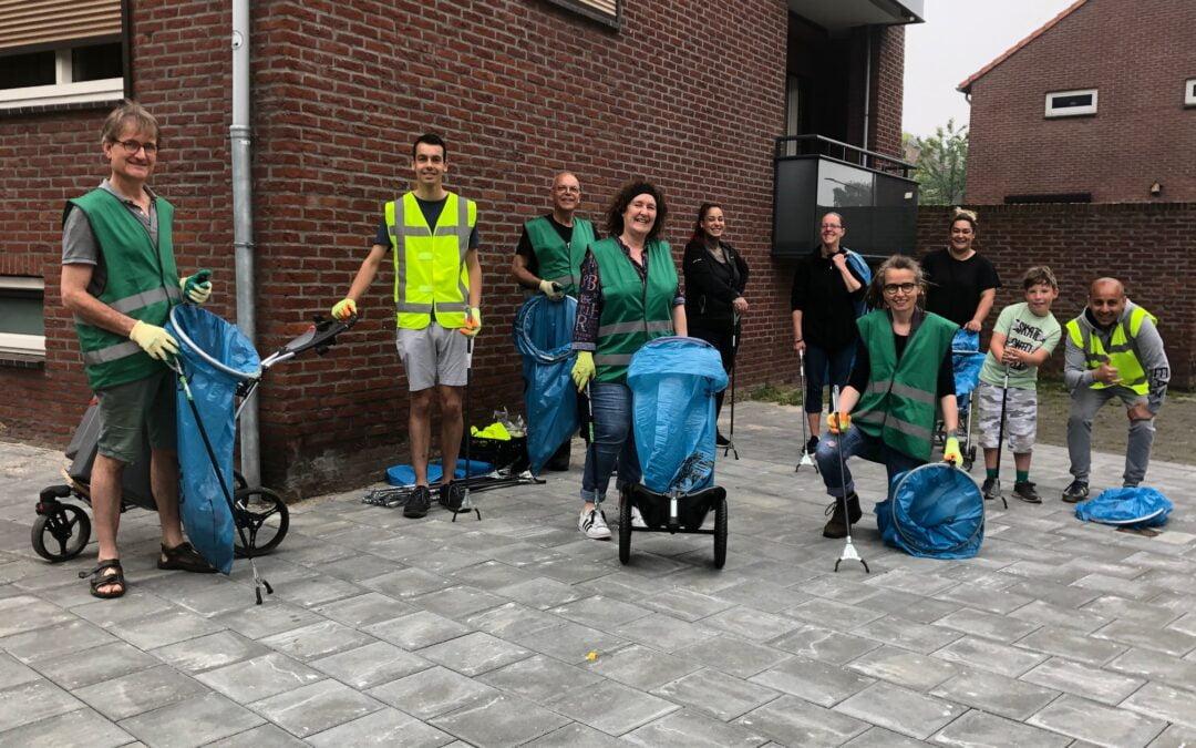 'Het samen opruimen van zwerfafval  versterkt ook de sociale band in een wijk'
